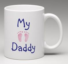 Father's Day gift Happy Father's Day mug My Daddy by BeesMugShop #etsy #fathersday #newdaddy #baby #gifts
