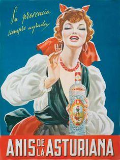 ULTRAMARINOS-BEBIDAS-LICORES-REFRESCOS-ANTIGUOS PRODUCTOS ESPAÑOLES-RAFAEL CASTILLEJO Vintage Advertising Posters, Vintage Travel Posters, Vintage Advertisements, Retro Ads, Wine Poster, Poster Ads, Poster Prints, Spanish Posters, Celtic