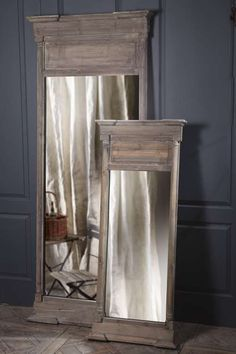 Seriously want this mirror to stand between my two pedestal sink in my dream bathroom.