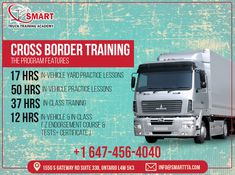 Smart Truck Training Academy Provides Refresher Training or Advanced Standing Training Provides Drivers With Basic Theoretical & Practical Training to Safely Operate a Tractor-Trailer & Refresh their Previous Knowledge of Driving an AZ Vehicle. For Services & More Info Contact: Call: 647-456-4040 Email: Contact@smarttta.com Website: www.Smarttta.com  #TheSmartTruck #TrainingAcademy #TrainingForTruck #DriveLikeProfessional #SafeNSecureDrive