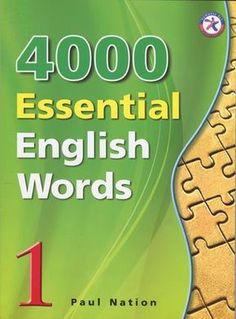 4000 Essential English Words is a six-book series that is designed to focus on practical high-frequency words to enhance the vocabulary of learners from high beginning to advance levels. The series presents a variety of words that cover a large perce. English Grammar Book, English Book, English Class, English Words, English Vocabulary, Teaching English, English Language, Primary English, English Tips