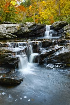 A vertical view of Devil's Den Falls near Mt. Cheaha in Alabama. Beautiful Waterfalls, Beautiful Landscapes, Go Camping, Camping Hacks, Camping Packing, Beautiful World, Beautiful Places, Landscape Photography, Nature Photography