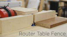 Adjustable Router Table Fence - 190