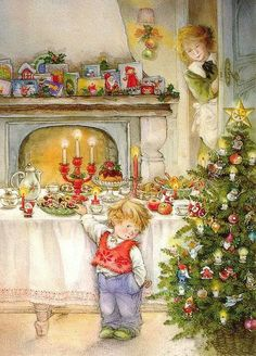 de – Deine kostenlose Bildercommunity – Vintage weihnachten - To Have a Nice Day Christmas Scenes, Noel Christmas, Christmas Greetings, Winter Christmas, Christmas Glitter, Christmas Postcards, Christmas Goodies, Christmas Treats, Illustration Noel