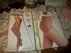 Secret Deluxe & Miracle Mart Pantyhose