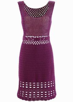 Vestido de Crochê todo feito à bem  Super elegante e casual  Fio 100% algodão  Acompanha fôrro  Para outras opções de cores, favor consultar tabela de cores