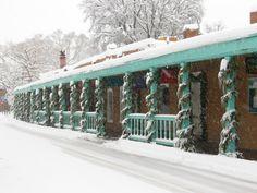 My favorite photo of Christmas in Santa Fe.