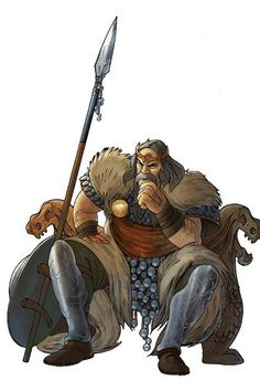 Gaul - Every clan has an honored elder and experienced fighter used to persuade the inhabitants of other villages to join his clan.  Every time he speaks to the inhabitants of a village, their loyalty is lowered until they eventually join your nation.