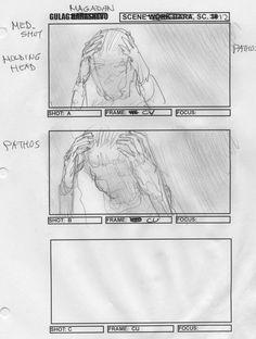 Storyboards for Gulag Magadan (2017) by Michael Kingsbury