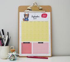 Le calendrier et le semainier de Septembre viennent d'arriver sur le blog et sont disponibles gratuitement en téléchargement ! Quelle version allez-vous préférez ce mois-ci ? Bonne planification à tous !