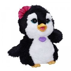 An interactive penguin that flaps its wings, makes sounds, and dances around to delight kids.
