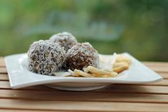 Grundrezept: Gesunde Pralinen (Raw Energy Balls) | Projekt: Gesund leben | Clean Eating, Fitness & Entspannung