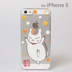 Nyanko Sensei iPhone 5 Case (Yee-haw)