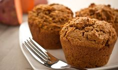 Sweet Potato Maple Muffins  #vegan #recipe #veganmofo