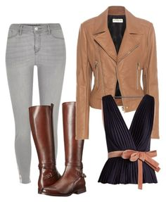"""""""Untitled #154"""" by gildaronca on Polyvore featuring River Island, Frye, Balenciaga and Roksanda"""