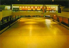 The Metro Center ice skating rink