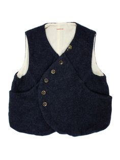 Flanel Wool Vest Pan - WEB SHOP - KAPITAL