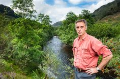Actor Greg Wise on his estate near Dunoon, Scotland