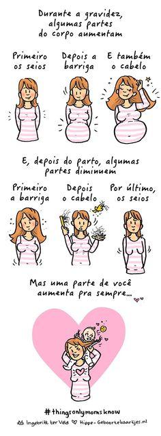 Veja esses comics que mostram como é divertido ser mãe