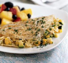 BODYBUILDING RECIPE: Egg White Omelet with Veggies at ProSource.net