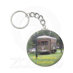 New Orleans Streetcar Keychain
