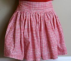 Easy Skirt Tutorial