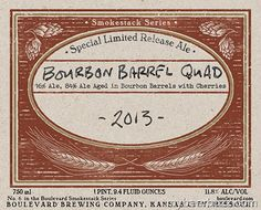 Boulevard Smokestack Series - Bourbon Barrel Quad