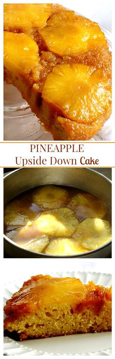 The best, most delicious Pineapple Upside Down Cake I have ever made! | www.diethood.com