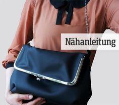 PDF Sewing Pattern - shoulder bag purse frame