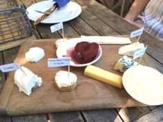 Cheese board @ The Goatshed at Fairview Farm & Winery Fairview Farms, Stuffed Peppers, Cheese, Wine, Spaces, Board, Bad Food, Lifes Too Short, Stuffed Pepper
