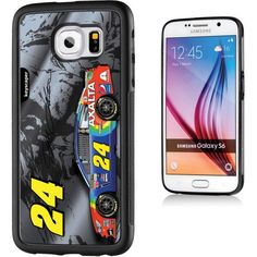 Jeff Gordon 24 Axalta Dark Silver Galaxy S6 Bumper Case