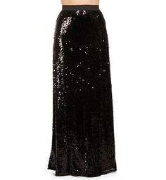 Pre-Order: Black Sequin Maxi Skirt