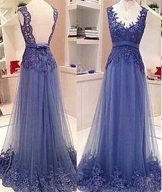 Prom Dress, Cute Prom Dress, Lace Prom Dress,