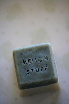 handmade soap - mellow - zeepje