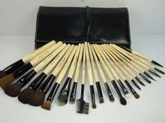 Bobby Brown brushes  (so glad I bought these) love them and they hold up really well!