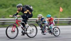 The best tag along bike on the market allows you to go for a ride with your child who may not be quite ready to bike that far. It is a great family item...