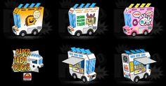 Si vous avez déjà mis les pieds en Californie, vous avez sûrement remarqué ces Taco Trucks camions aménagés colorés vous proposant… des tacos. Will Guy, de goopymart s'en est inspiré pour créer une très belle ligne de Taco Trucks'en papier,Lire la suitePaper Taco Trucks