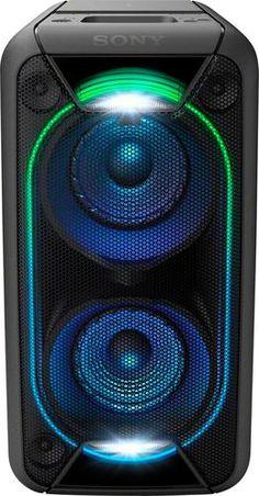 Sony - Powered Wireless Speaker (Each) - Black - Front_Zoom Water Speakers, Sony Speakers, Party Speakers, Best Speakers, Subwoofer Box, Electronics Projects, Mac Os, Logitech, Karaoke