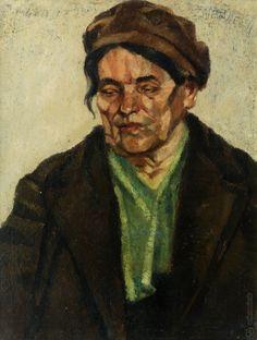 Ernest Zmeták: Starenka v barete:1940