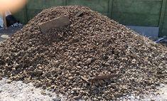Tak wygląda 20 ton gruzu, który będzie użyty to utwardzenia gruntu