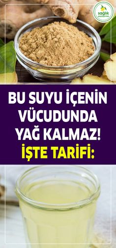 Bu Suyu İçenin Vücudunda Yağ Kalmaz! Natural Living, Fat Burning, Health Care, Health Tips, Natural Health, Natural Cures, Essential Oils, Food And Drink, Remedies