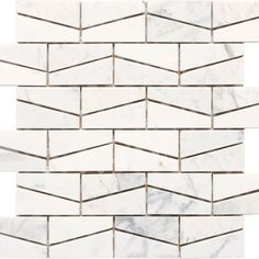 Check out this Daltile product: Stone a' la Mod Wedge Polished Contempo White - available at Ed Selden Carpet One in Lakewood Wa. Stone Mosaic, Stone Tiles, Mosaic Tiles, Marble Mosaic, Tiling, Floor Patterns, Wall Patterns, Textures Patterns, Floor Design