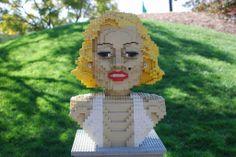 LEGOLAND California | Marilyn Monroe | LEGO