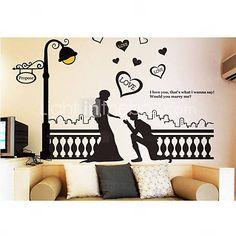 adesivo de parede adesivo decorativo (0940-ws37)