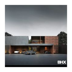 "Polubienia: 128, komentarze: 9 – BHX Architects Company Limited (@bhxarchitects) na Instagramie: ""___________________________________ Modern Garage 10 
