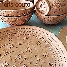Biscoitos quentinhos... Prontos para esmaltar (cris couto 73) Tags: ceramica ceramic handmade bisque clay biscoito criscouto