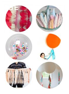 bring the birthday party with you - portable party decoration ideas for public venues. www.SmallforBig.com