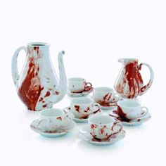 @Meeghan Anderson Webster Dude. Also buy this. Zombie tea party set. Mother of F*CK!