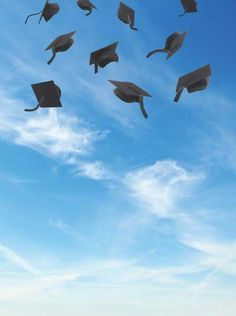 6154 Grad Hat Toss In The Sky Backdrop - Backdrop Outlet Background For Photography, Photography Backdrops, Photography Tips, Flower Phone Wallpaper, Wallpaper Backgrounds, Graduation Wallpaper, Grad Hat, Fabric Backdrop, Vinyl Backdrops