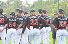 Atlanta Braves Spring Training/ 2013... Not a Braves girl, but those baseball pants are... :)